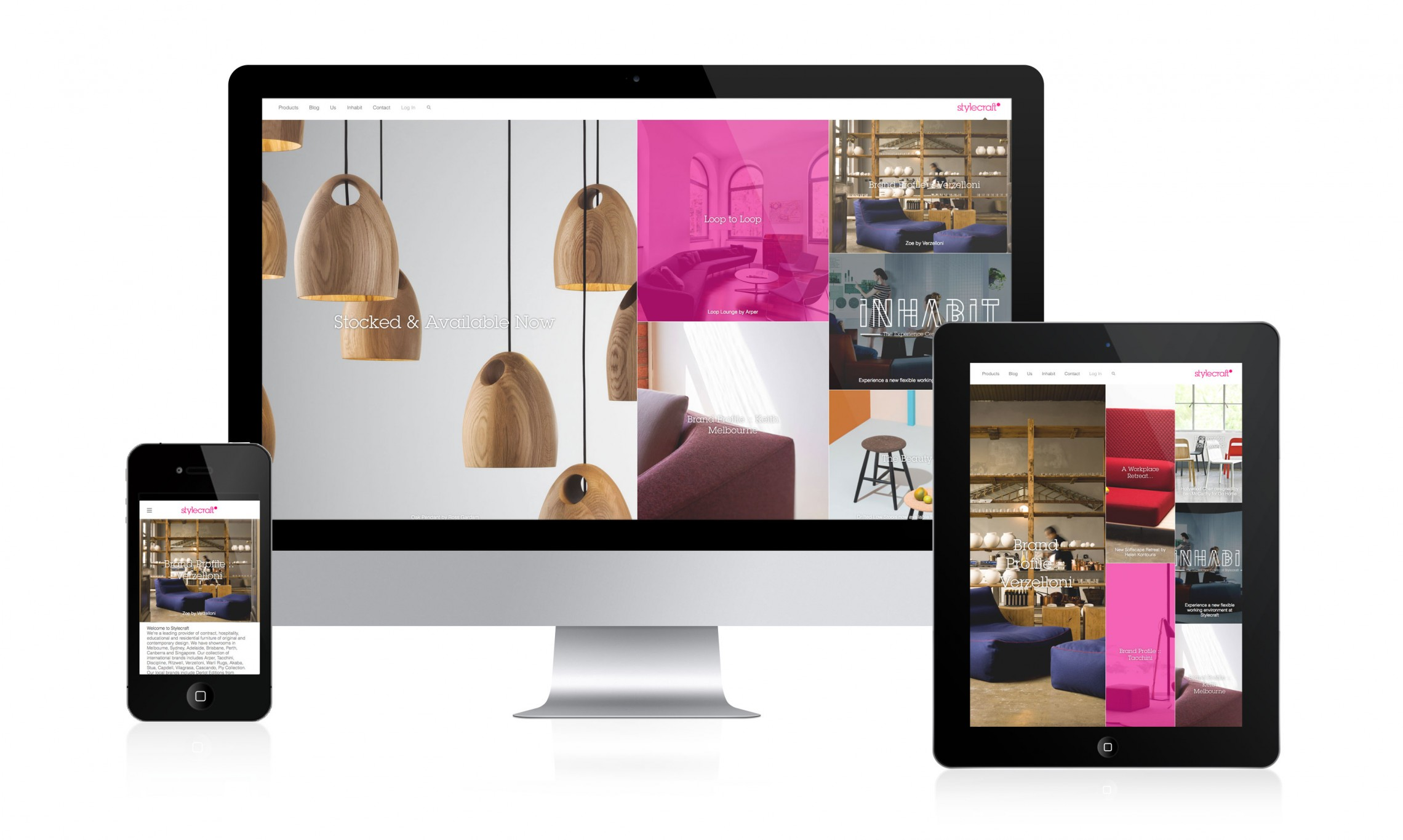 Stylecraft responsive website